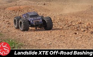 Redcat Racing Landslide XTE Off-Road Bash Session [VIDEO]