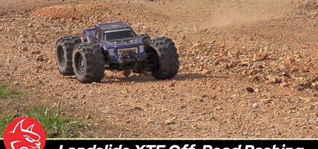 Redcat Racing Landslide XTE Off-Road Bash Session [VIDEO]