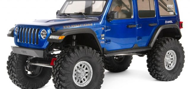 Axial SCX10 III Jeep Wrangler Rubicon JLU 1/10 4WD Kit [VIDEO]