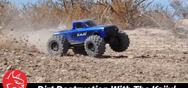 Blasting Dirt & Grabbing Air With The Redcat KAIJU 1/8 Monster Truck [VIDEO]