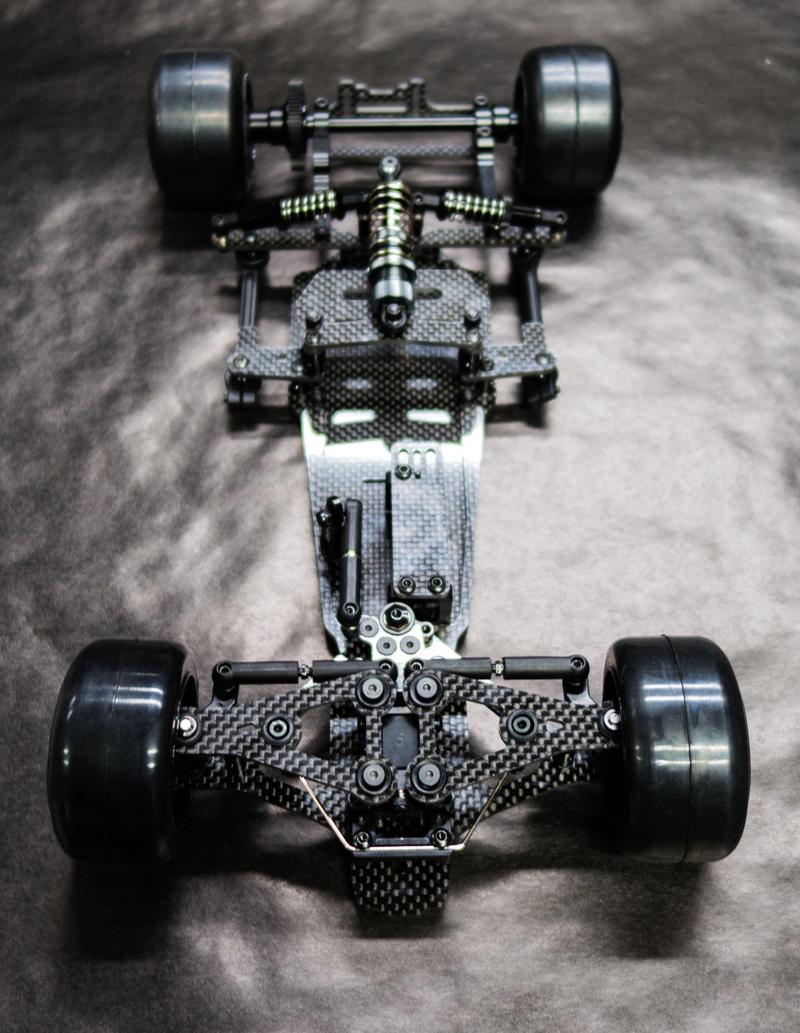 Carisma CRF-1 Pro 1/10 2WD F1 Kit