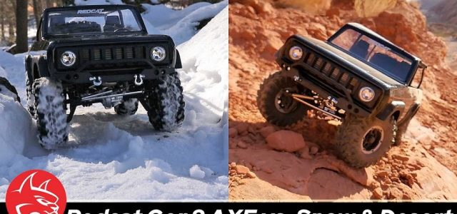 Extreme Conditions Crawl With The Redcat Scout II GEN8 AXE Edition [VIDEO]