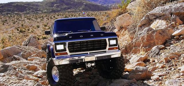 High Desert Adventure With The Traxxas Ford Bronco [VIDEO]