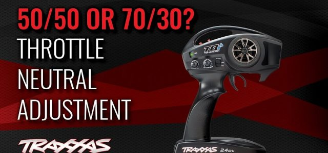 How To: Traxxas TQi 50/50 & 70/30 Adjustment [VIDEO]