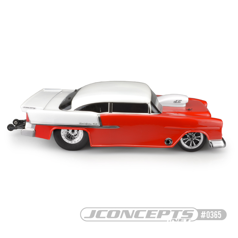 JConcepts 1955 Chevy Bel Air Drag Eliminator Clear Body