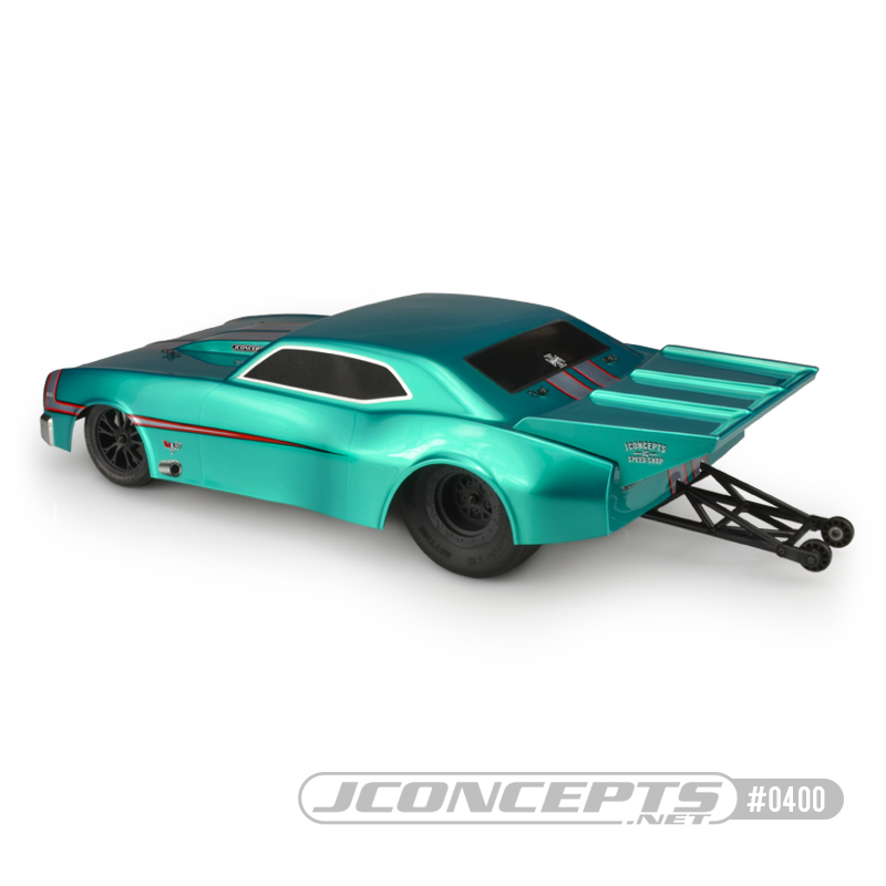 JConcepts 1967 Chevy Camaro Street Eliminator Clear Body