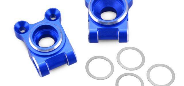 JConcepts B74 Blue Aluminum Rear Hub Carriers