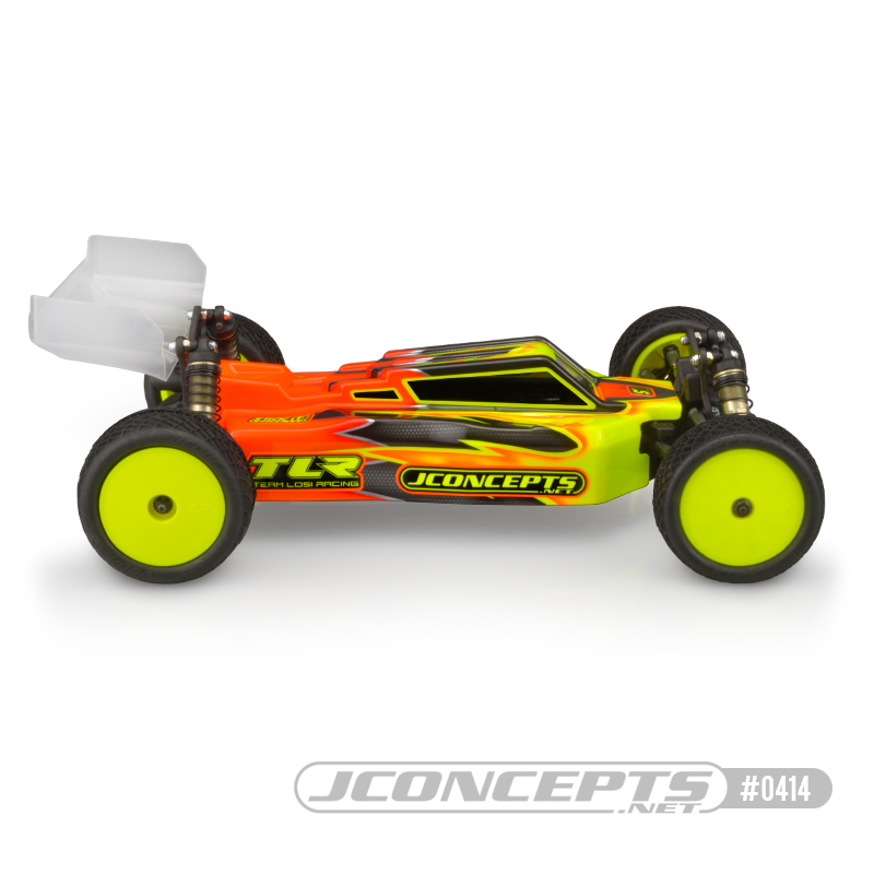 JConcepts F2 Clear Body For The TLR 22X-4