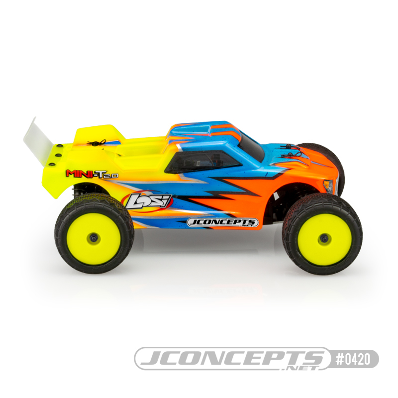 JConcepts Finnisher Mini-T 2.0 Clear Body