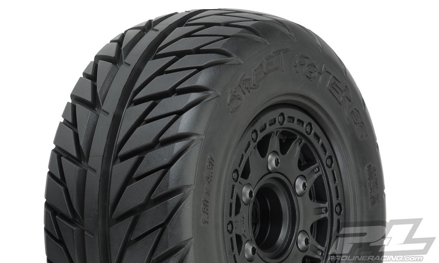 New Pro-Line Mounted Short Course Tires: Trencher X, Badlands, Sling Shot & Street Fighter