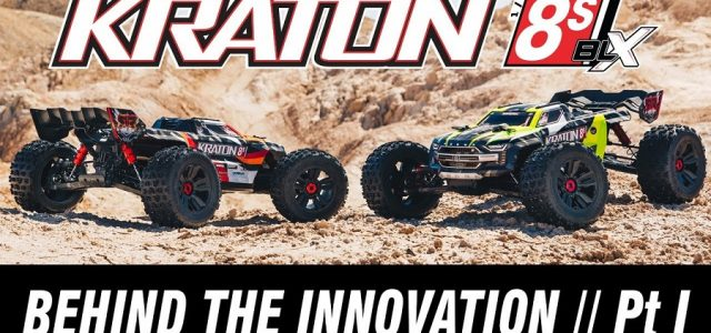 Part 1 Of Behind The Innovation Of The ARRMA KRATON 8S BLX [VIDEO]
