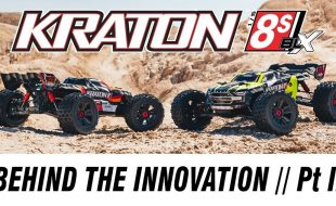 Part 2 Of Behind The Innovation Of The ARRMA KRATON 8S BLX [VIDEO]