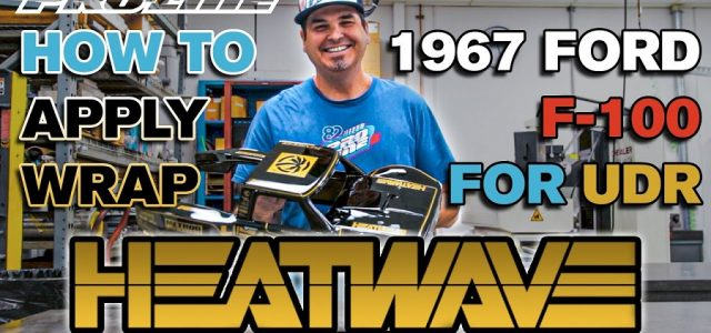 Pro-Line How To: Apply Wrap To 1967 F-100 Heatwave Edition For UDR [VIDEO]