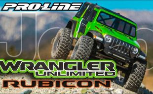 Pro-Line Jeep Wrangler JL Unlimited Rubicon Clear Body [VIDEO]