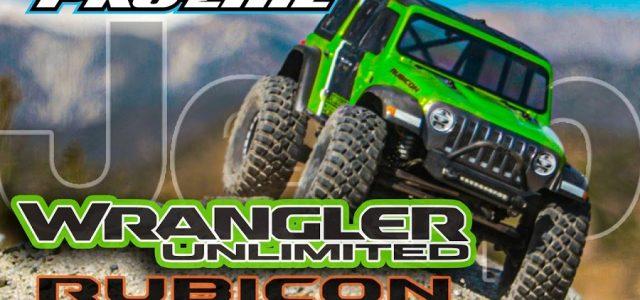 Pro-Line Jeep Wrangler JL Unlimited Rubicon Clear Body [VIDEO]