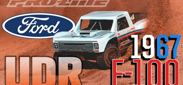 Pro-Line Pre-Cut 1967 Ford F-100 Race Truck Clear Body For The Traxxas UDR [VIDEO]