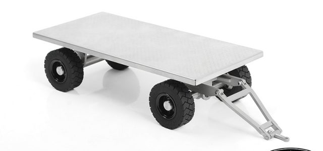 RC4WD ​1/14 Forklift Trailer With Steering Axle