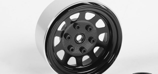 RC4WD Stamped Steel 1.7″ Beadlock Wagon Wheels (Black)