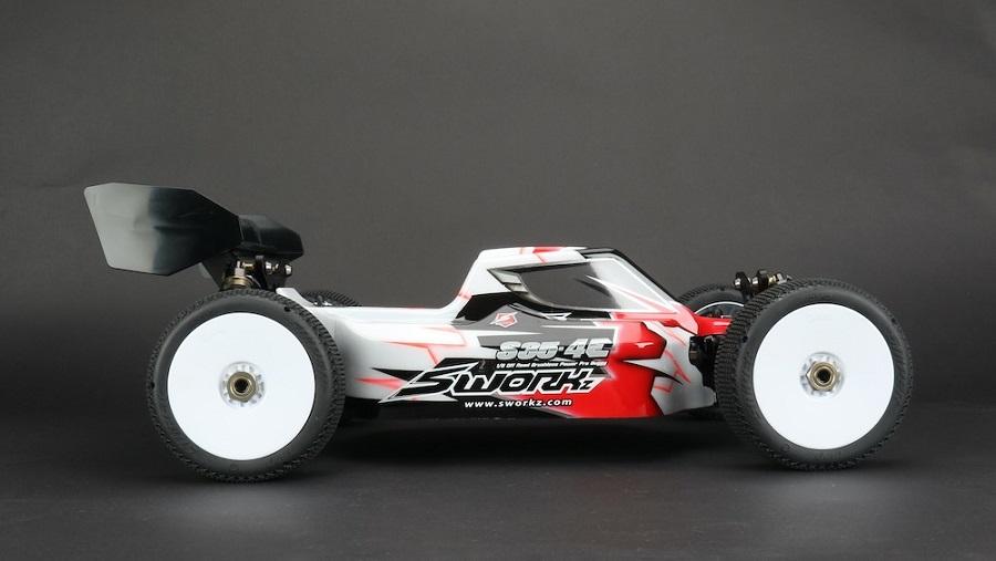 SWORKz S35-4E 1/8 Electric Buggy Kit