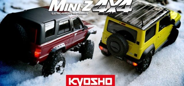 Snow Trailing With The Kyosho Mini-Z 4×4 Readyset [VIDEO]