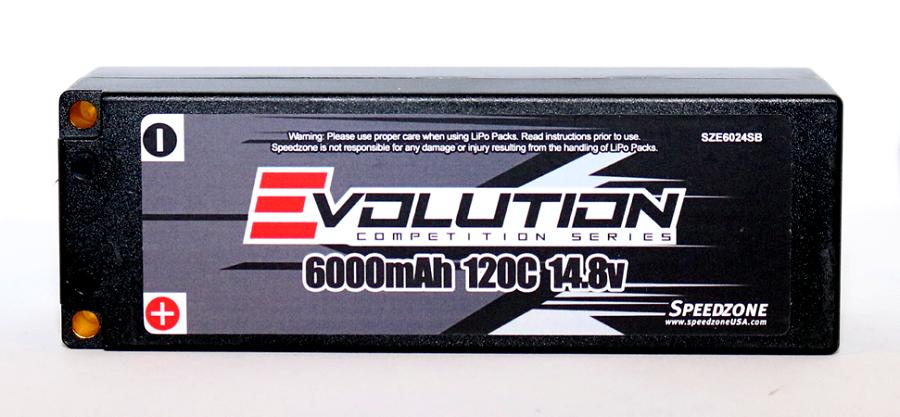 Speedzone Evolution 2S & 4S Lipo Packs