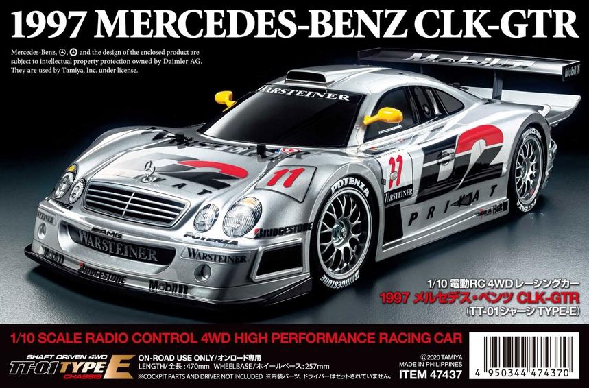 Tamiya 1997 Mercedes-Benz CLK-GTR