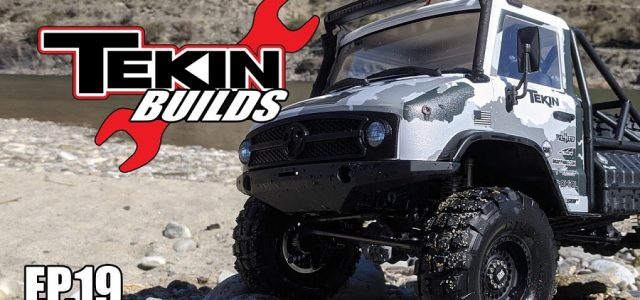 Tekin Builds Ep. 19: Axial UMG10 Maiden Voyage [VIDEO]