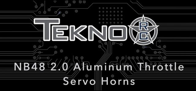 Tekno RC NB48 2.0 Aluminum Servo Horns [VIDEO]