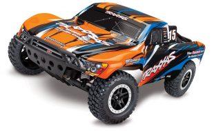 Traxxas Slash VXL Pro 2WD Short Course Truck Now Available In Orange Paint Scheme