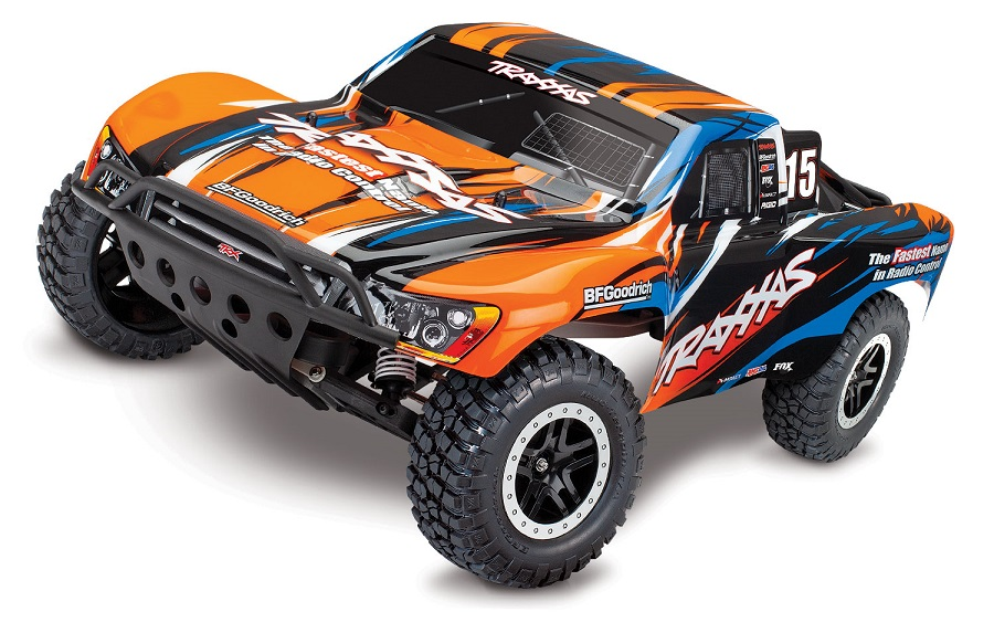 Traxxas Slash VXL Pro 2WD Short Course Truck Now Available In Orange Paint Scheme