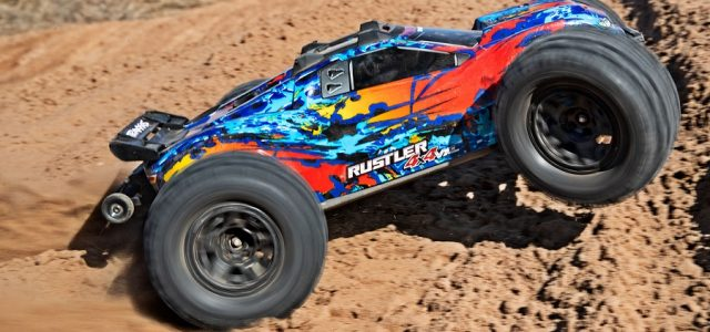 Traxxas Sledgehammer Tires For The Rustler 4X4 [VIDEO]
