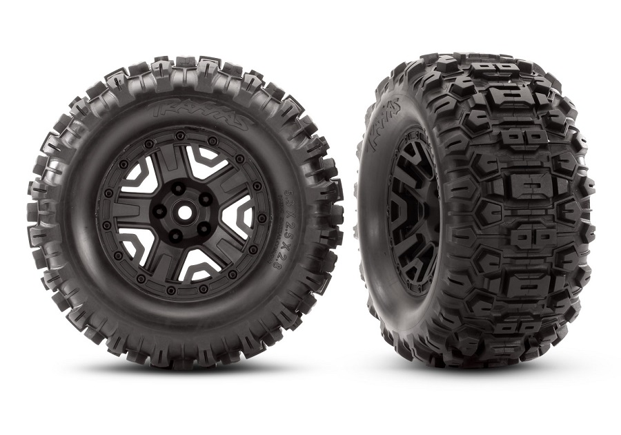 Traxxas Sledgehammer Tires For The Rustler 4X4