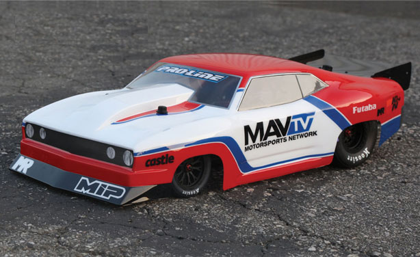 Heads Up Custom Traxxas Slash Drag Camaro Rc Car Action