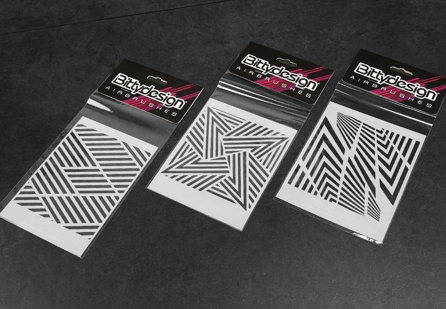 Bittydesign Airbrush Stencils