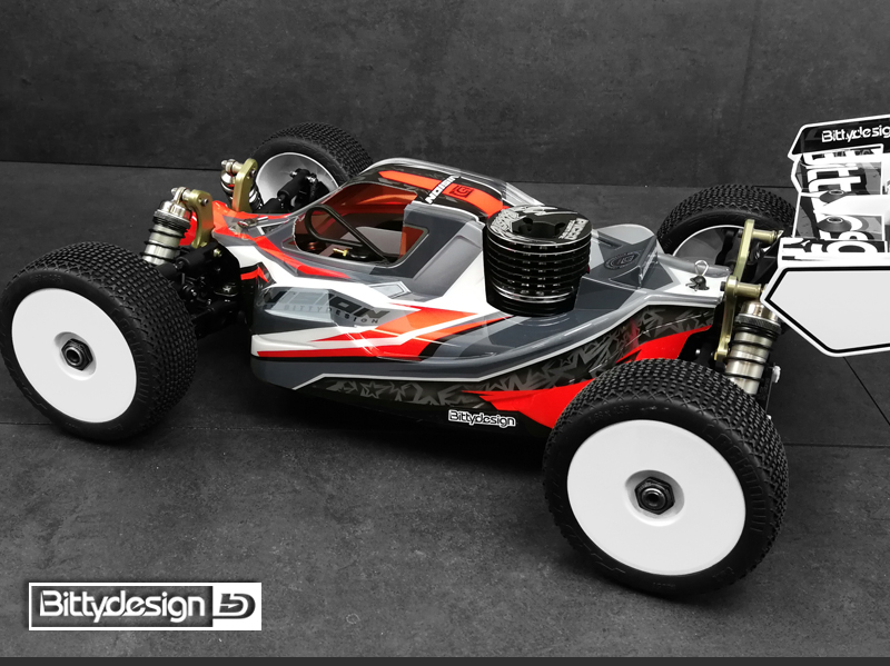 Bittydesign Pre-Cut VISION Clear Body For The Kyosho MP10