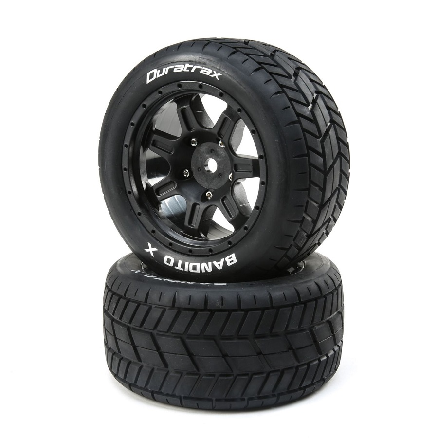 Duratrax Belted & Mounted Tires