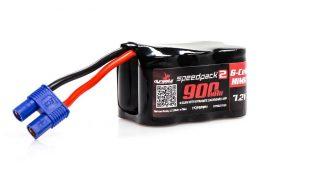 Dynamite RC Speedpack2 7.2V 900mAh 6C NiMH, 3+3, EC3