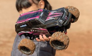 Playing Dirty: LaTrax Teton 1/18 Scale 4WD Monster Truck