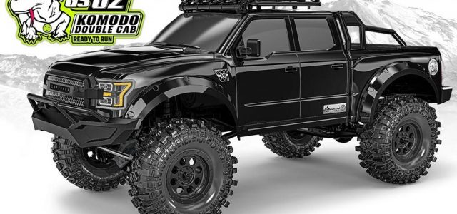 Gmade Komodo Double Cab TS RTR 1/10 Scale Crawler