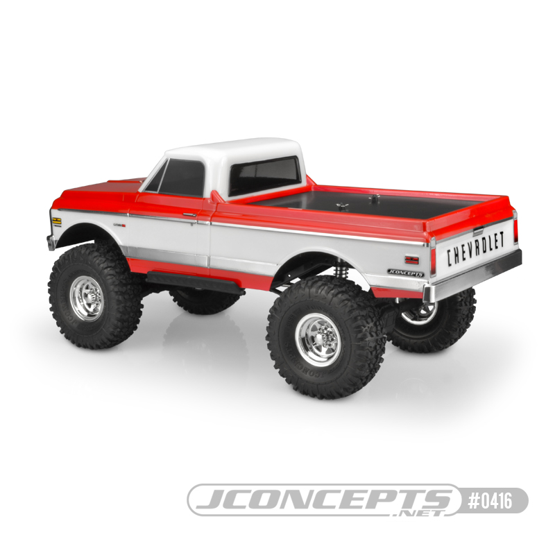 JConcepts 1970 Chevy C10 Clear Body