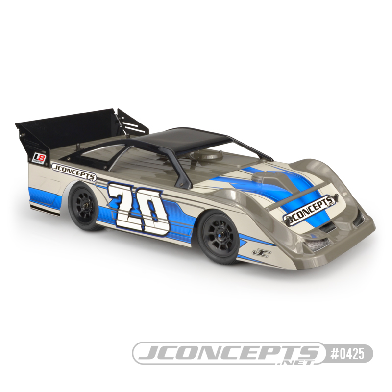"""JConcepts L8D """"Decked"""" Late Model Clear Body"""