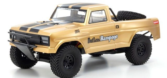Kyosho Outlaw Rampage Pro Readyset Rc Car Action