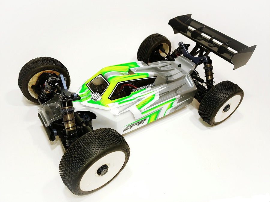 Leadfinger Racing A2.1 Tactic Clear Body & Front Wing For The Tekno EB48 2.0