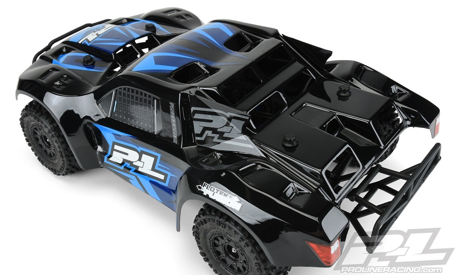 Pro-Line Pre-Painted/Cut Flo-Tek Fusion (Black) Body