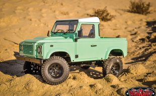 RC4WD Gelande II RTR With 2015 Land Rover Defender D90 Body [VIDEO]