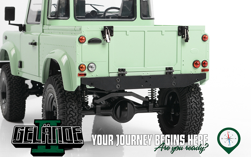 RC4WD Gelande II RTR With 2015 Land Rover Defender D90 Body