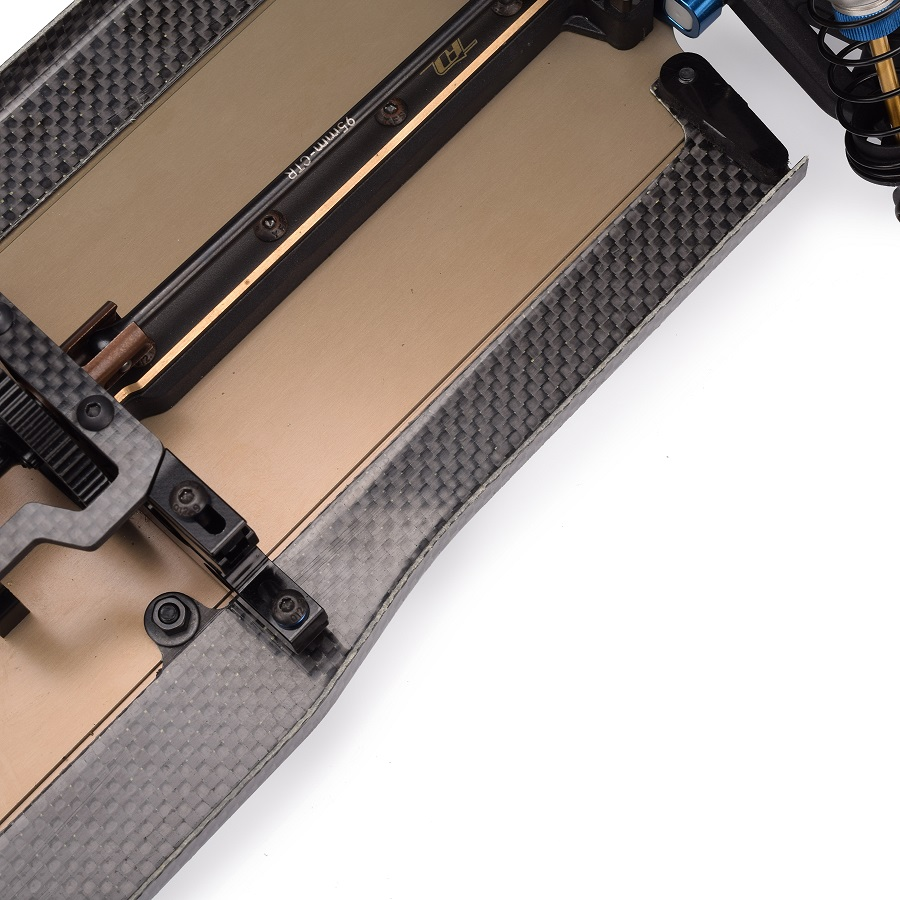 RUDDOG B74 & XB4 Carbon Fiber Side Guard Sets