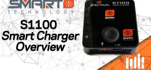 S1100 Spektrum Smart Charger Overview & Demonstration [VIDEO]