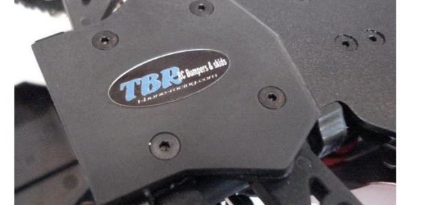 TBR DSr Rear Skid For The Losi Mini 8ight/ Mini 8ight T