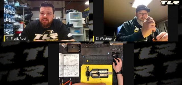 TLR 22X-4 Livestream Build Series [VIDEO]